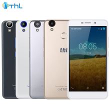 Original THL T9 Pro 4G LTE Cell Phone 2GB RAM 16GB ROM MT6737 Quad-Core 5.5inch 3000mAh Android 6.0 Fingerprint Smartphone