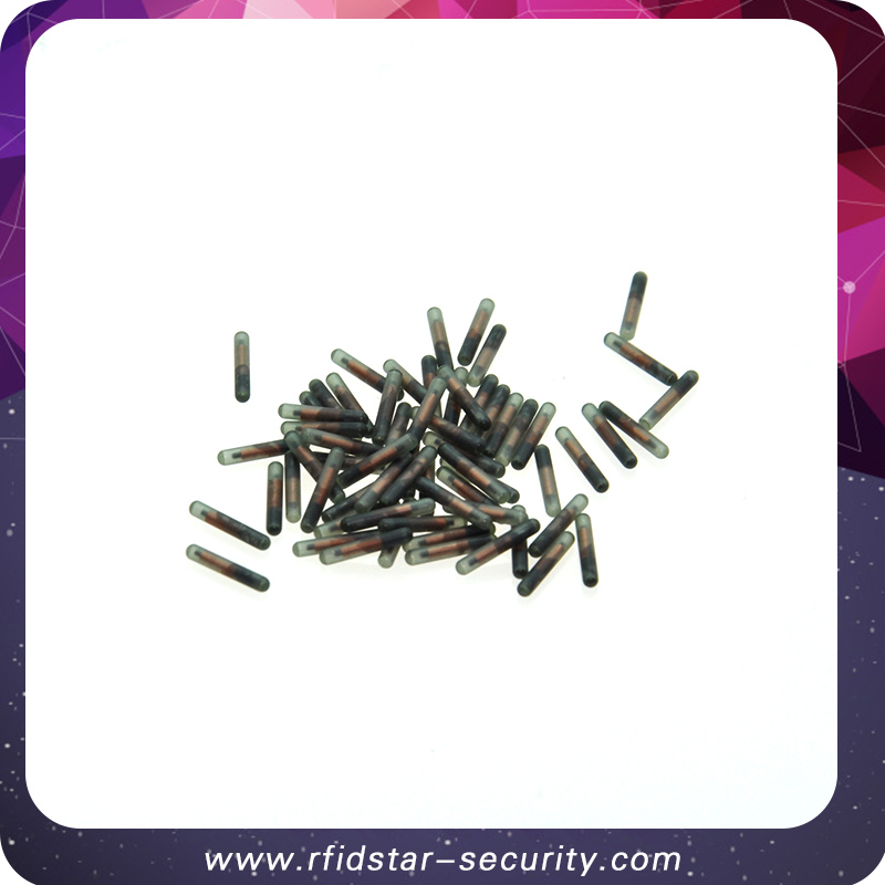 50PCS/Lot Icar 134.2KHz 2*12mmFDX-B Animal RFID microchip for Animal Identification 50pcs lot fr9220