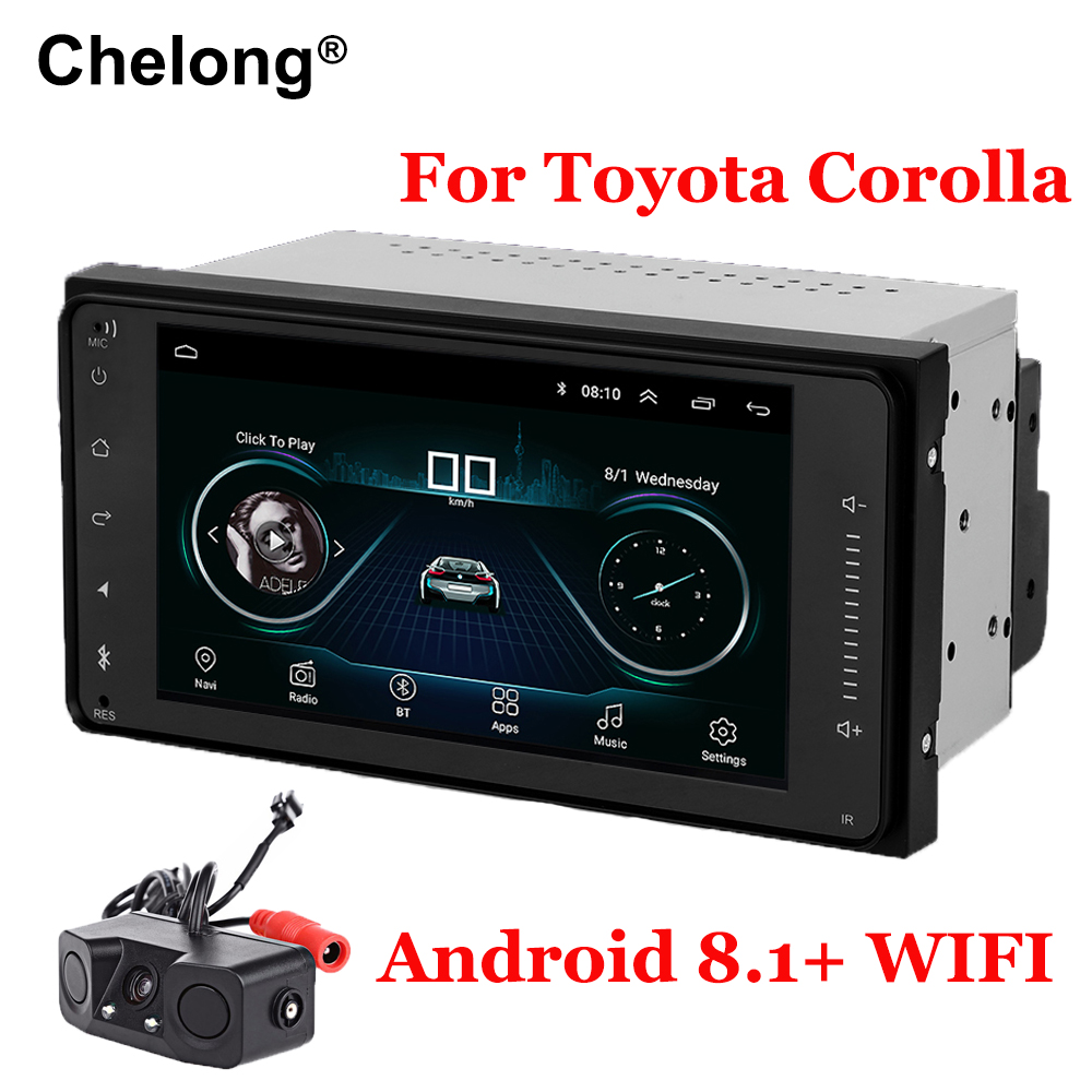 Android 8 1 Double Din Car Radio For Toyota Terios Old