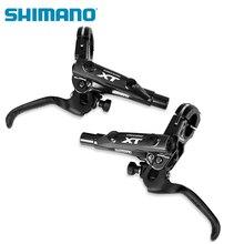 SHIMANO DEORE XT M8000 הידראולי דיסק בלם כולל קרח טק רפידות שמאל וימין עבור SM BH90 SBM BL BR M8000 בלם מנוף & Caliper