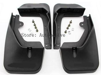 Set Molded Mud Flaps For LEXUS RX RX350 RX450h RX200T 2016 2017 Mudflaps Splash Guards Front Rear Mud Flap Mudguards Fender