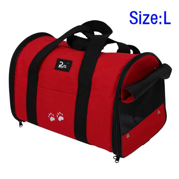 NOCM L Pet Dog Cat Portable Travel Carrier Tote Bag Crates Kennel