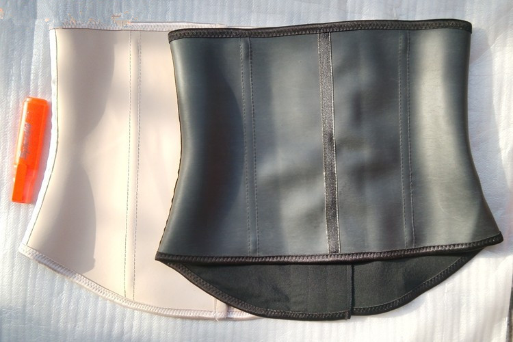872d16076 Plus size High compression Fajas gym sport latex waist trainer cincher  weight loss waist training corset girdles body shapers-in Waist Cinchers  from ...
