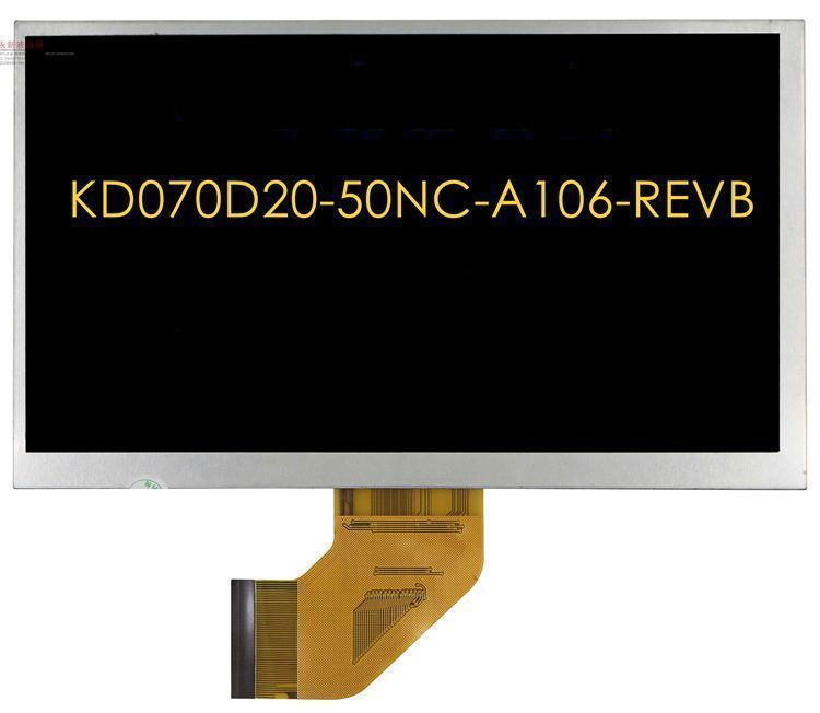 7 inch compatible 50pin KD070D20-50NC-A106-REVB FPC070C5050-A For aoson m753 LCD Displays screen bph6001ahd bl a bph6001ahd fpc a lcd displays screen