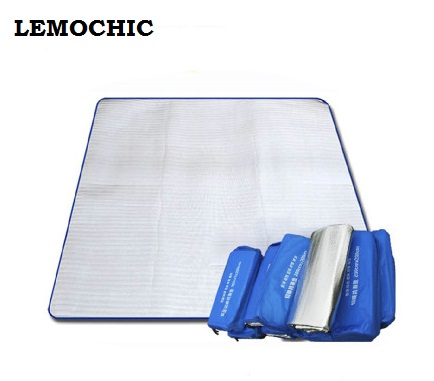 Us 1759 12 Off22m Barbecue Camping Equipment Matelas Gonflable Tourist Tent Sleeping Picnic Blanket Mat High Quality Yoga Pad Air Inflatable In