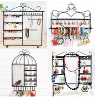 Wrought Iron Jewelry Frame Hair Hoop Bracelets Bracelets Necklaces Earrings Display Shelf Accessories Receive The Rack