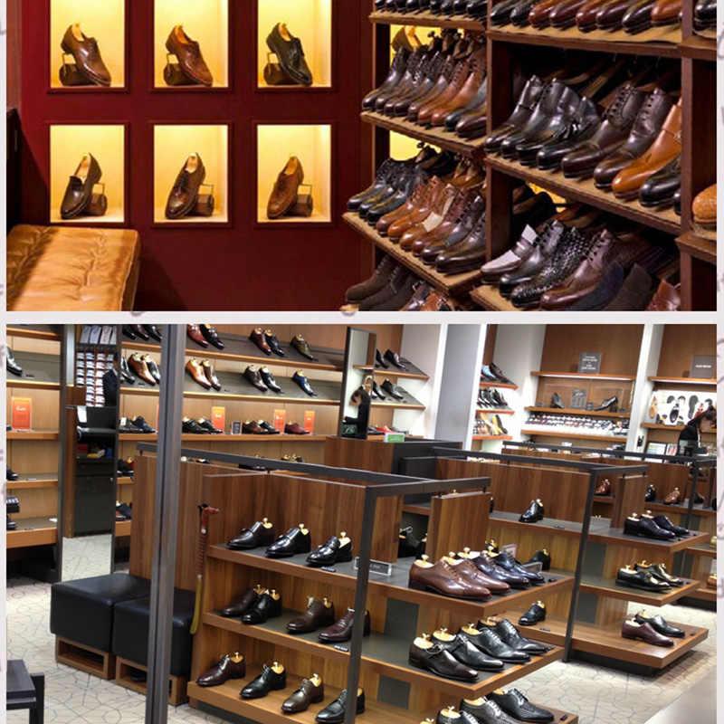 1 çift Ayarlanabilir Ayakkabı Ağaçları Bahar katı ahşap erkek Ayakkabı Destek Metal Topuzu Ayakkabı şekillendirme kadın Ayakkabı Bakımı sedye Shaper