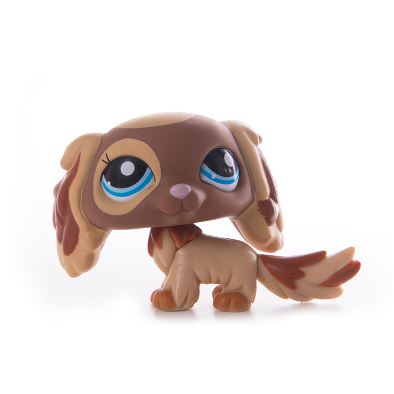 LPS Pet Shop Presents Toys Cocker Spaniel Dog Cat Littlest Dolls Action Figures Model High Quality Toys Gifts Cosplay Toy Girl