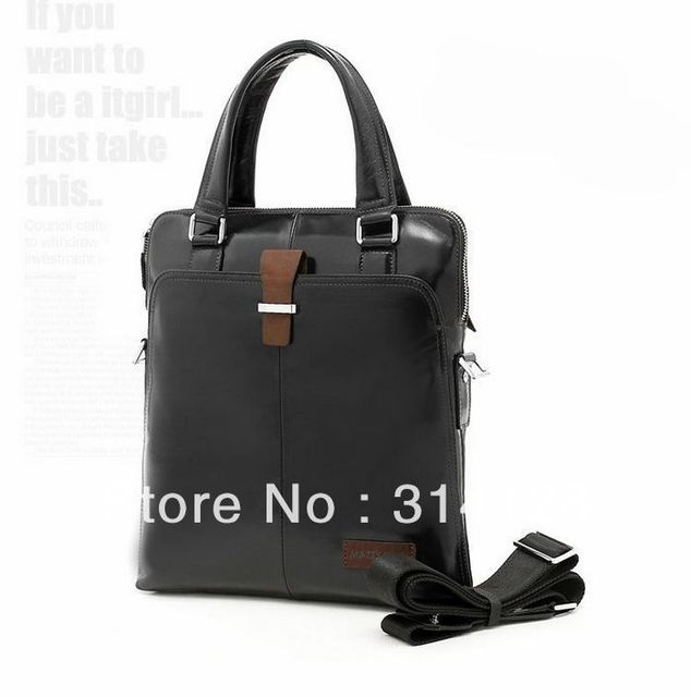 Mazzy star B20051-3 limited tide male oil-wax leather fashion handbags shoulder/leisure men Korean leather bag
