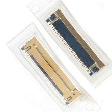 10 100 قطعة/الوحدة ، الأصلي جديد LCD LED LVDS كابل الشركة العامة للفوسفات موصل ل ماك بوك برو 13 A1278 A1342 2008 2012 30 دبابيس على اللوحة