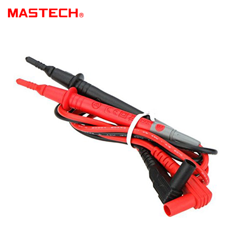 MASTECH T3033U 10A 65cm Test Lead Probe 65cm for DMM Digital Multimeter And  Clamp Meters Tester Cable Accessories Kit Set