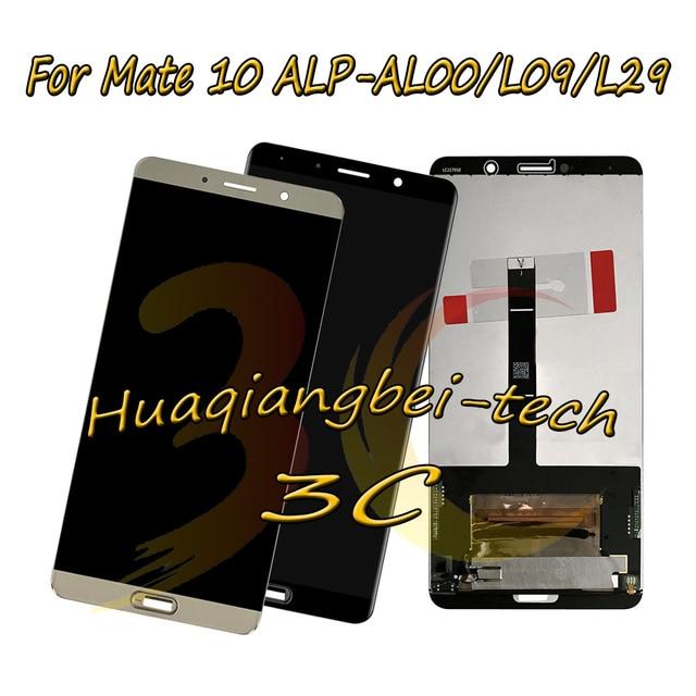 5.9 Nieuwe Voor Huawei Mate 10 ALP AL00 ALP L09 ALP L29 Volledige Lcd scherm + Touch Screen Digitizer Vergadering 100% Getest