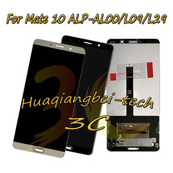 5.9 ''Nuovo Per Huawei Mate 10 ALP-AL00 ALP-L09 ALP-L29 Display LCD Full + Touch Screen Digitizer Assembly 100% Tested