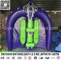 3X3 M inflável Voando Raio de Manta para tubo de água rebocável ski esporte