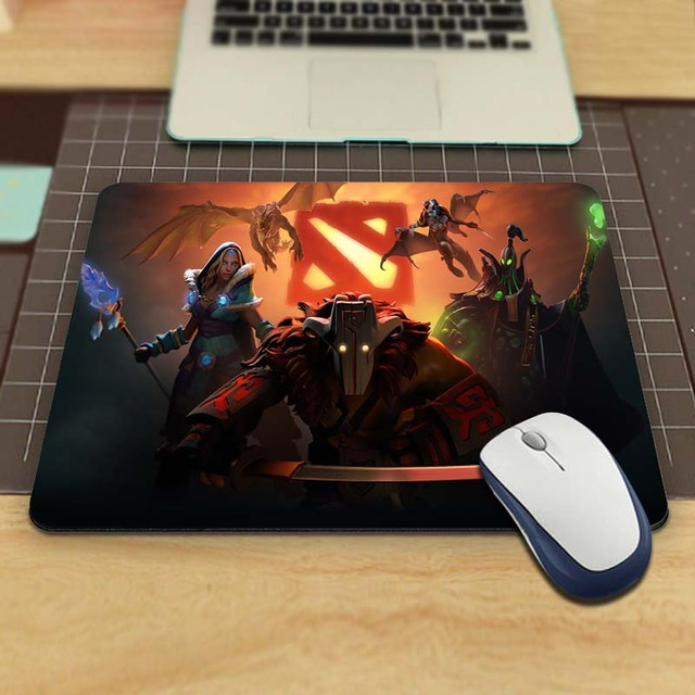 New Arrival Funny New Dota 2 Large Gaming Mouse Pad Mat Gaming Rubber Durable PC Anti-slip Mouse Mat for Optical/Trackball Mouse