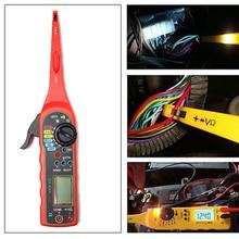 KWOKKER многофункциональный автоматический тестер цепи мультиметр лампа для ремонта автомобиля Автомобильный электрический мультиметр автомобильный диагностический инструмент