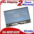 JIGU TM00741 TM00751 Laptop Battery For Acer Extensa 5210 5220 5230 5420 5420G 5610 5620 5620Z 5630 5630G 7220 7620Z