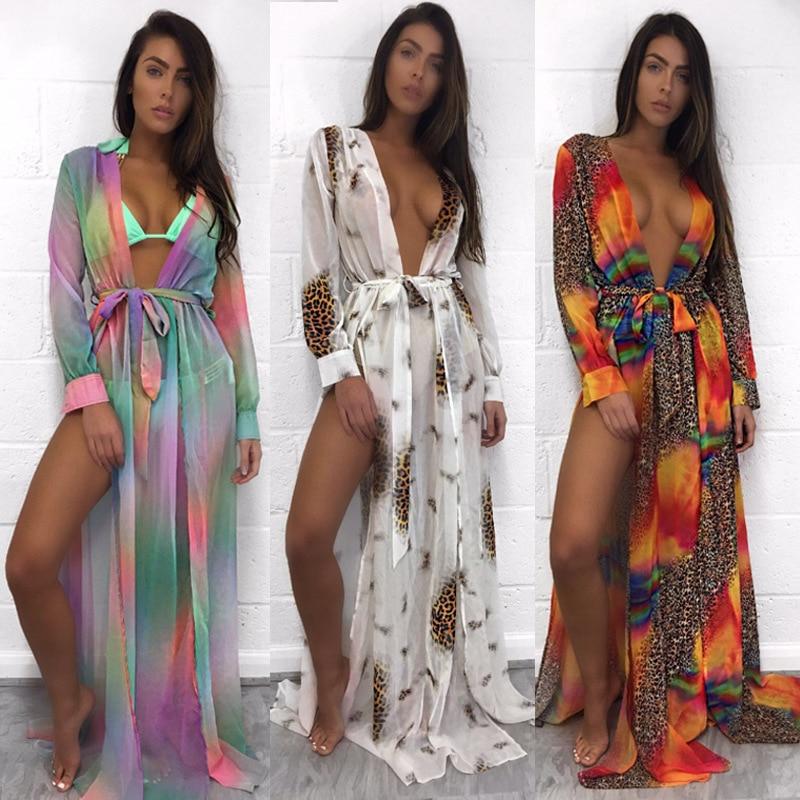 2018 New Arrival Swimwear Women Beach Tunic High Quality Comfortable Beach Dress Sexy Breathable Women Beach Dress Cover Up Swim