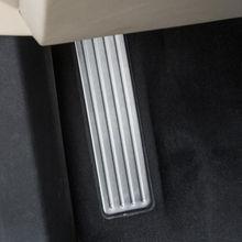 Принадлежности для шашлыков @ fuka пригодный для Cadillac XT5 2016 нержавеющая водителей сбоку топлива тормоза левая нога Отдых педаль плиты 1x