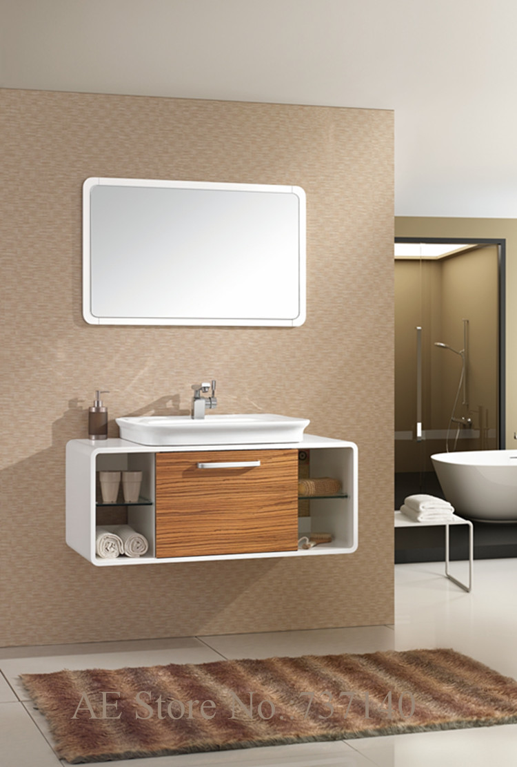 white vanity cabinet new style wood washbasin cabinet bathroom cabinet