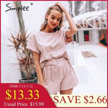 283424da115d TIGENA verano Floral Sexy Bodysuit mujer vendaje sin espalda monos mujer  mono pantalones cortos ...