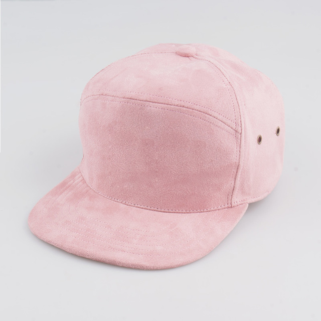 Fashion suede Brand Blank 5 Panel Caps Hip Hop Hat Bone Bobby Five Panel  Snapback Baseball Cap For Men Women Flat Hat Casquette ad8ae0b4088