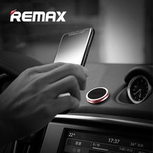 ФОТО remax universal magnetic car phone holder portable desk car mount mobile gps stand for iphone samsung s8plus magnet phone holder