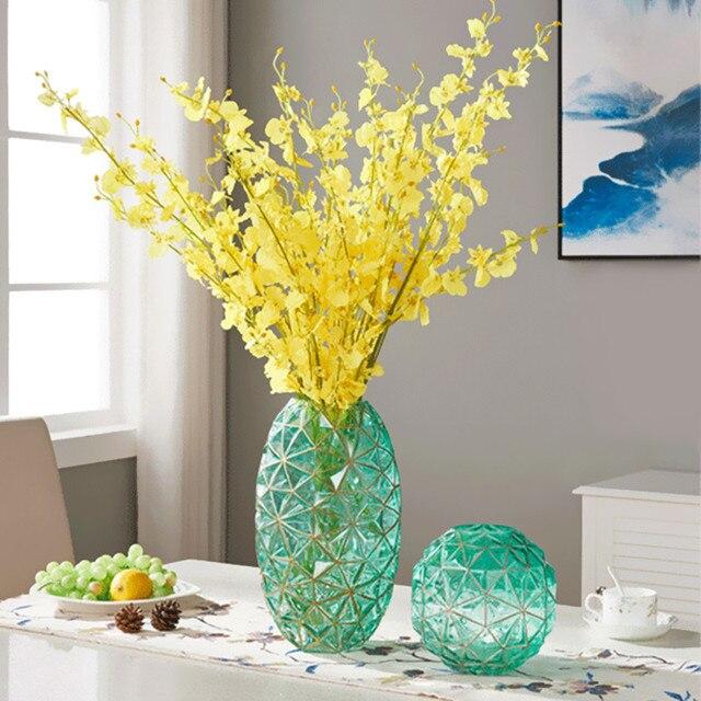 European Geometric Glass Vase Gift Home Decoration Fresh or Dry Flower Arrangement Living Room Bedroom Ornament Drop Shipping  sc 1 st  AliExpress & European Geometric Glass Vase Gift Home Decoration Fresh or Dry ...