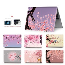 Color printing flower Laptop Case For MacBook Air Retina Pro 11 12 13 15  New with Touch Bar