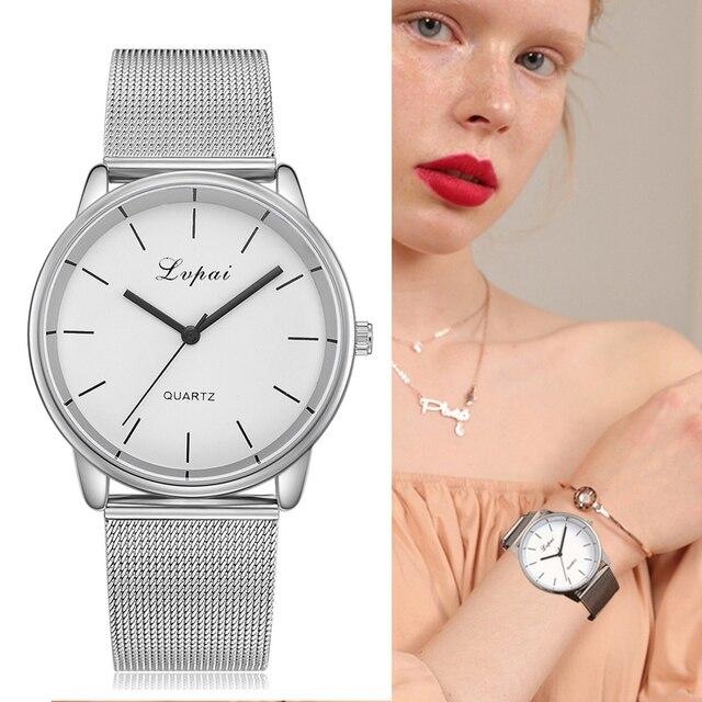 Lvpai Top Brand Hot Sale Colorful Dial Bracelet Watch Women Ladies Casual Dress