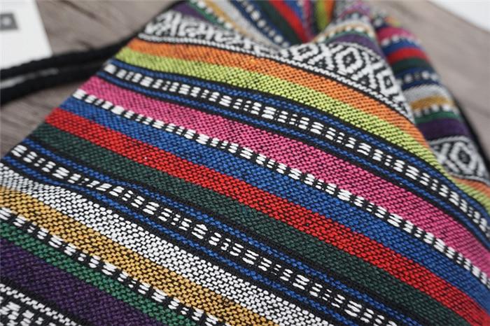 HTB1rnP dASWBuNjSszdq6zeSpXah LilyHood Women Fabric Backpack Female Gypsy Bohemian Boho Chic Aztec Ibiza Tribal Ethnic Ibiza Brown Drawstring Rucksack Bags