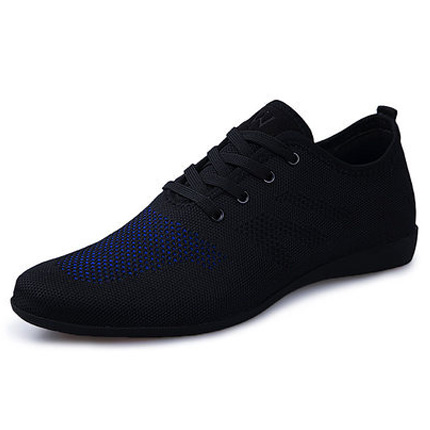 Hot Summer Men Shoes Breathable Men Casual Shoes Fashion Low Lace-up Mesh Male Shoes Comfortable Men's Flat Zapatillas Hombre fashion candy color faux gemstone pendant alloy necklace for women