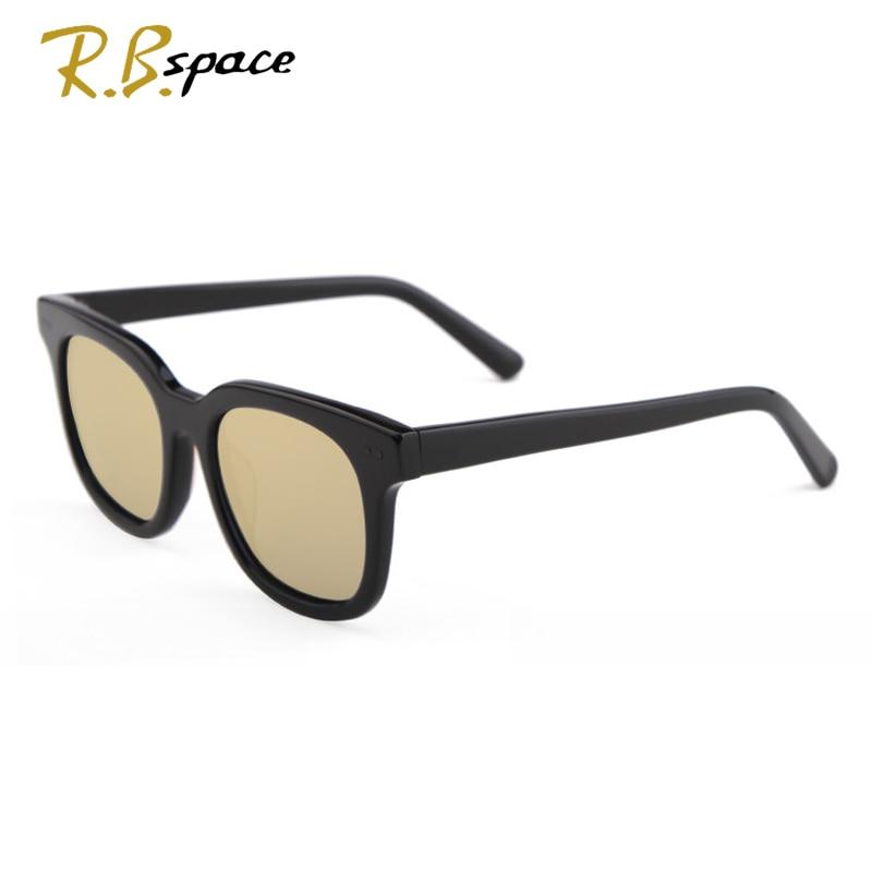 RBspace unisexe rétro plaque lunettes de soleil polarisées marque lunettes de soleil polarisées lentille Vintage accessoires lunettes de soleil hommes/Wom - 5