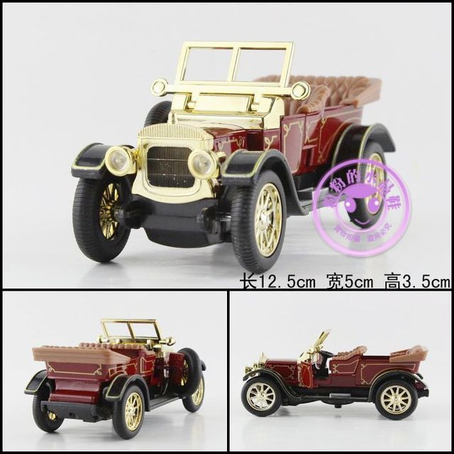 Super 1pc 12.5cm delicate Classical convertible bubble car simulation collect model alloy car home decoration gift toy