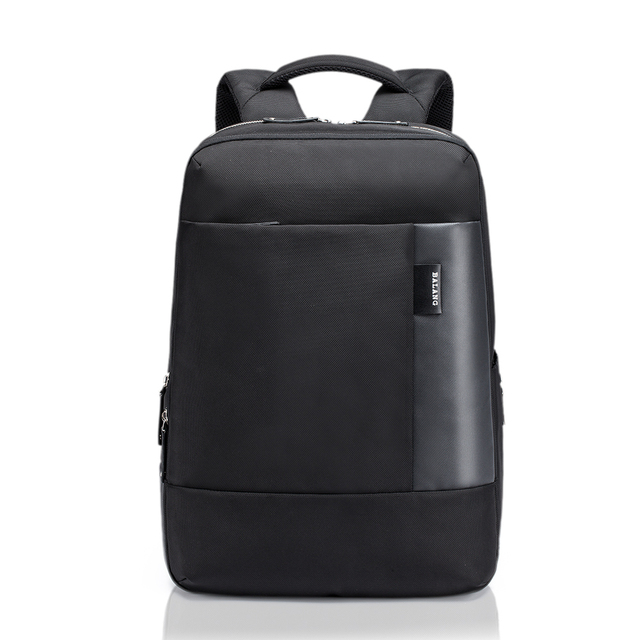 BALANG Brand Designer Business Style Mens Famous Double Shoulder Bags Waterproof Nylon laptop backpack College Simple Backpacks