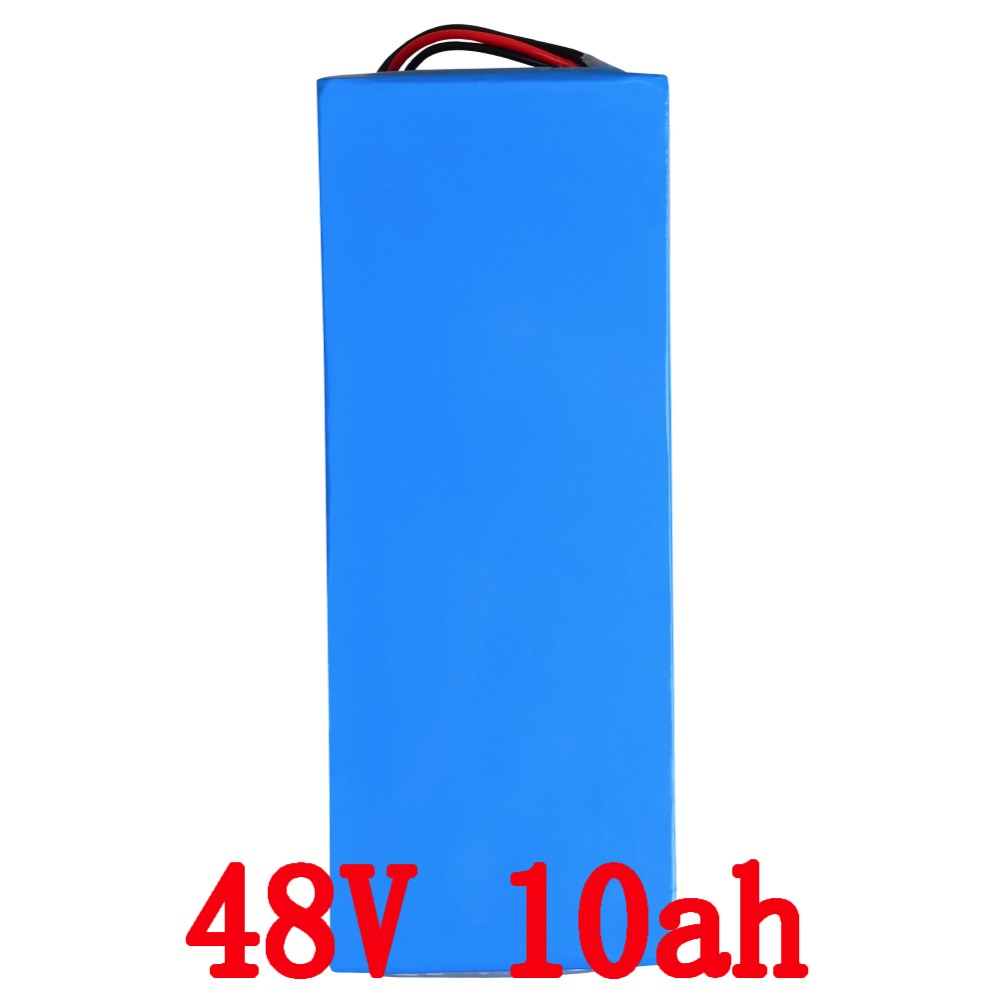 48v 10Ah Battery 500W e-bike Battery Lithium Electric Bike 48v with 54.6v 2A charger 15A BMS 48V Battery Pack Free Shipping eu us free customs duty 48v 550w e bike battery 48v 15ah lithium ion battery pack with 2a charger electric bicycle battery 48v
