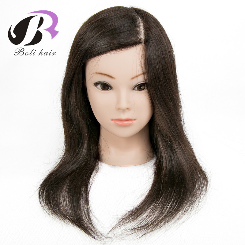 Mannequin Head With Human Hair 100% Real Hair Training Maniquin Head For Hairdresser Hairdressing Doll Heads Manikin HeadMannequin Head With Human Hair 100% Real Hair Training Maniquin Head For Hairdresser Hairdressing Doll Heads Manikin Head