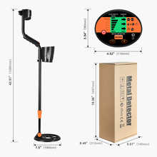 Underground Metal Detector Multifunctional Gold And Silver Digger Treasure Hunter MD-3060  LCD Display