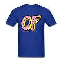 Домашней Одежды Хлопок Человек Футболки Дизайн Прохладный Odd Future Логотип Мужская Натуральный Хлопок Футболки