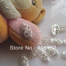 MD-554 3D 20pcs bag Full-cover Silver Zircon Stone Nail Decoration Metal  Shinny Deco Metal Nail Art Decoration 8b020d296932