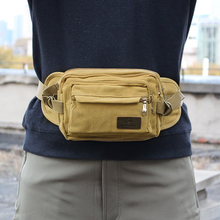лучшая цена Men Four Color Army Green Tactical Waist Pack Hiking Mountaineering Waist Bag Camping Pocket Men Key Case Men Belt Bag Canvas