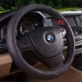 Couro genuíno 38 cm cobertura de volante para Volkswagen Tiguan Pasadena lzh