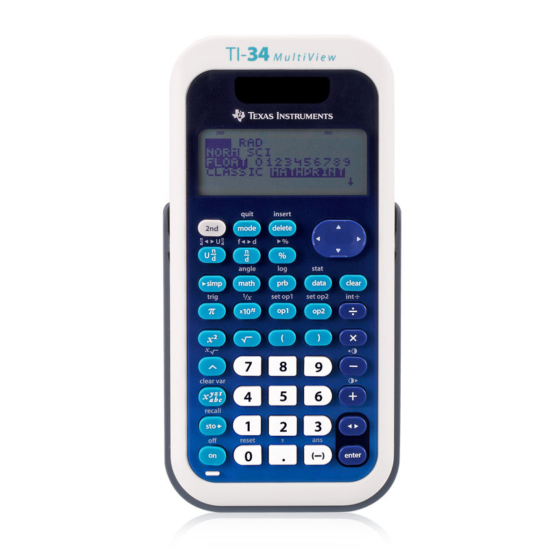 ФОТО MultiView Student Science Function Test Calculator Four Line Display