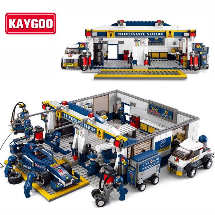Aliexpress.com : Buy KAYGOO F1 Racing Car DIY Educational ...