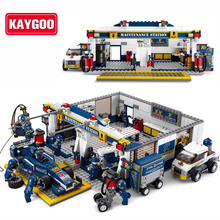 KAYGOO F1 Racing Car DIY Educational Bricks Toy 741pcs Without original Box Children Kids Toys Best Christmas Birthday Gifts