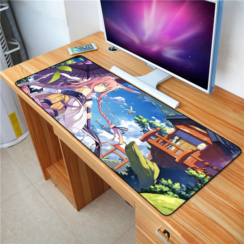 FFFAS 70X30cm <font><b>anime</b></font> cartoon mouse pad large size rubber bottom anti-slip keyboard mat laptop home office gifts <font><b>mousepad</b></font> mat XXL image