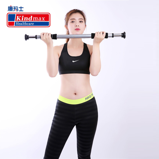 f7248075f82 Kindmax Exercise 100kg Adjustable Home Gym Bar Workout Door Pull Up  Horizontal Bar Chin Up Bar