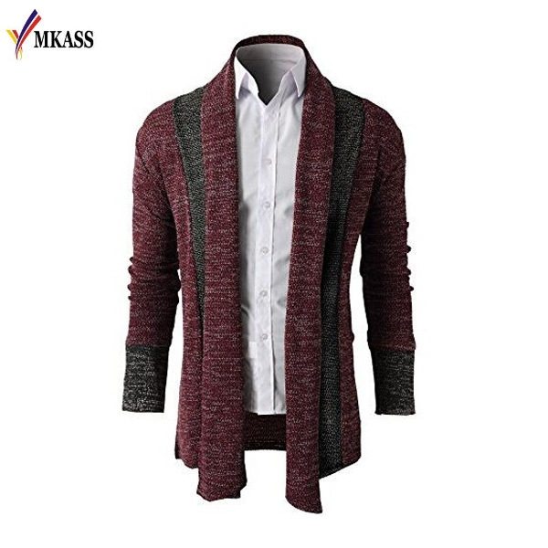2017 Hot Sale Brand-Clothing Spring Cardigan Male Fashion Quality Cotton Sweater Men Casual Gray Mens Sweaters Masculino