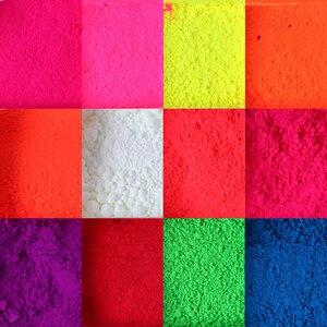 Image 5 - 1 Box Neon Pigment Powder Nail Fluorescence Gradient Glitter Winter Shinny Dust Ombre DIY Nail Art Decor Manicure CHYE01 13 1
