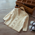 Coat Children Knitwear Cardigan Sweater Ropa Ninos School Supplies Warm Clothing For Girls Baby Cardigan Girl Boy 60J093